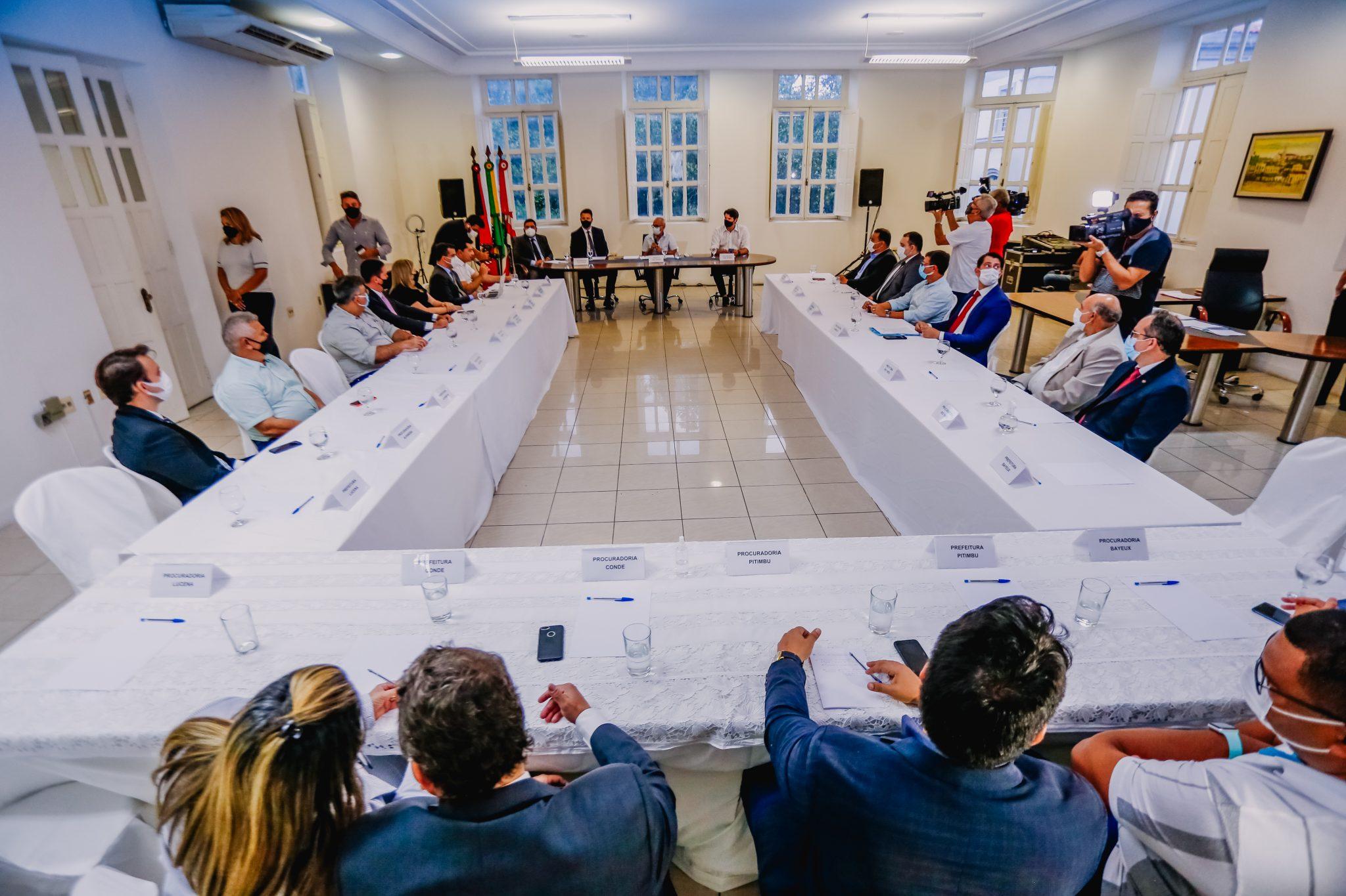 Novo consórcio metropolitano de João Pessoa tem adesão de 12 municípios