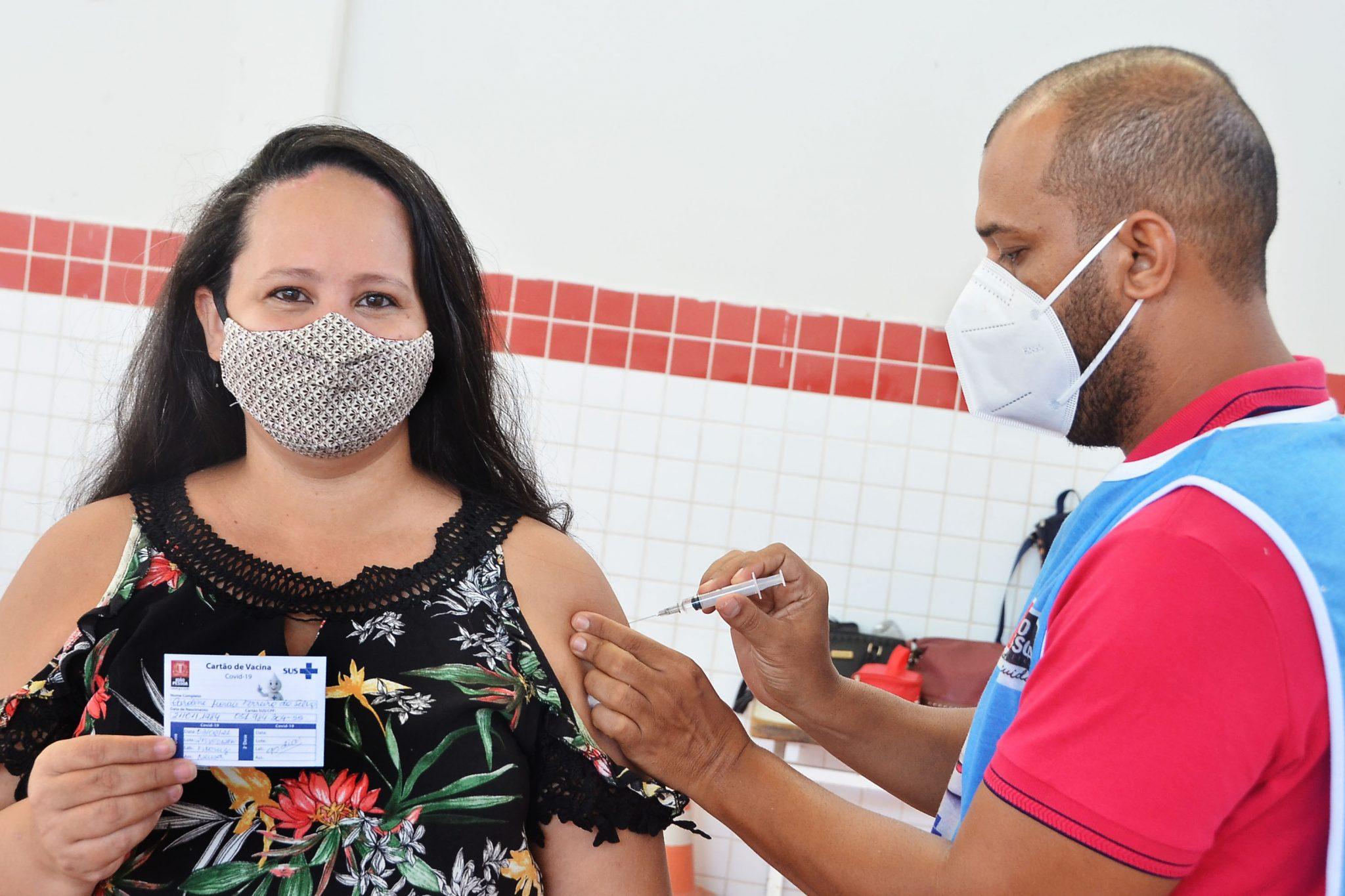 Guarabira abre agendamento de vacinação contra Covid-19 para pessoas de 50 anos ou mais